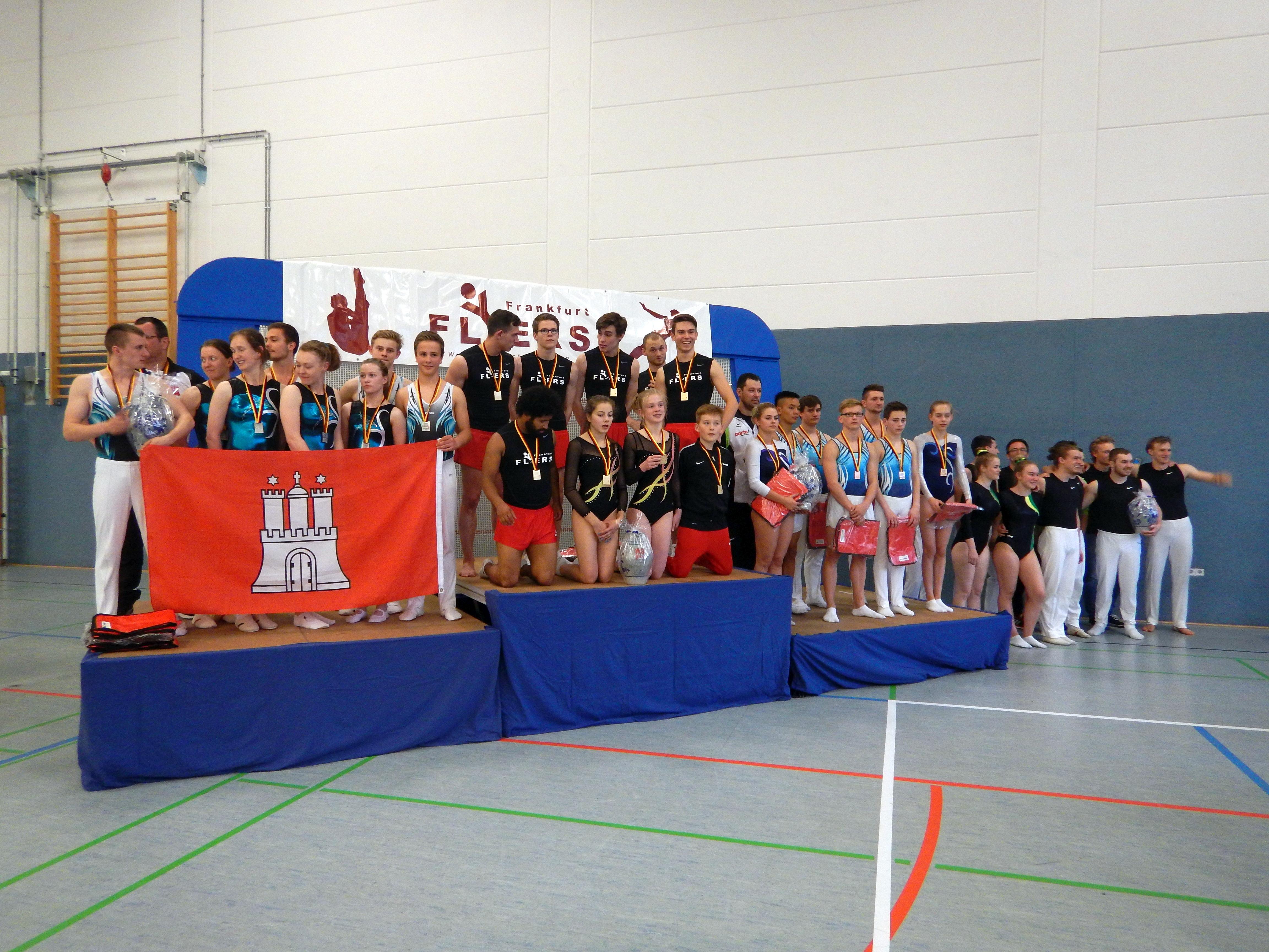 Frankfurt Flyers werden Deutscher Vereinsmeister